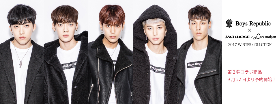 JACKROSE×BoysRepublic②